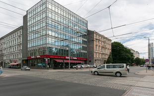 Izīrē, Komerctelpas, Raiņa bulvāris  25, Rīga, Centrs